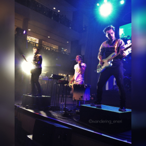 Eli, Nick, Kevin, and Sean--collectively known Walk the Moon--gave their Filipino fans five shows from August 18 to 20, 2015.